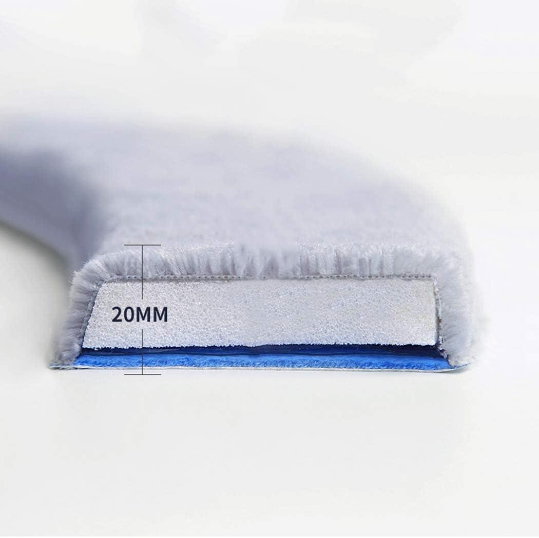 Outgeek 2PCS Cubierta de Asiento de Inodoro Espuma de Memoria Almohadil la de Asiento de Inodoro Lavable Almohadil la para Calentar El Inodoro