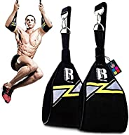 RIMSports Ab Straps for Pull Up Bar for Ab Workouts Premium Pull Up Straps & Hanging Ab Straps for Core Wo
