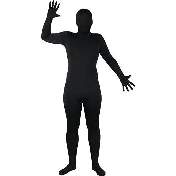Wicked Skinz Verrückte All Over Lycra Spandex Skin Suit schwarz, passend für bis zu 6