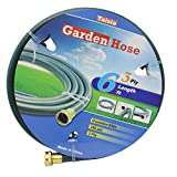 """6ft leader hose - Taisia Garden/Farm/Water Hose 5/8""""X6ft-3PLY Great for Gardens/Farm and Ranch (6 FT)"""