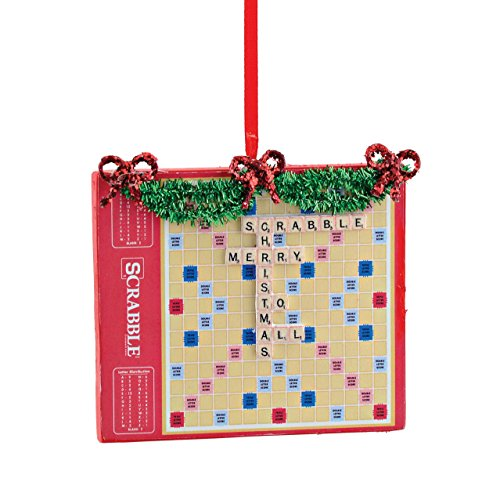 Department 56 Hasbro Scrabble Game Family Love Home Christmas  Ornament New