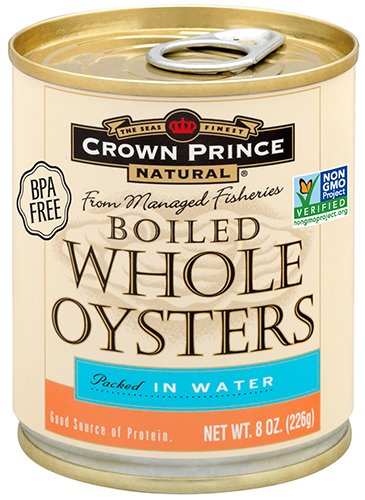 Make a recipe for Easy Dairy Free Oyster Chowder with Crown Prince Natural Whole Boiled Oysters, 8-Ounce Cans (Pack of 12)