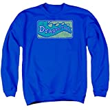 Dragon Tales Mens Logo Distressed Sweater