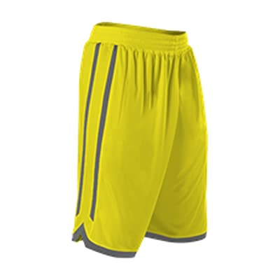 Alleson BOYS JERSEY YOUTH REVERSIBLE BASKETBALL SHORT 588PY