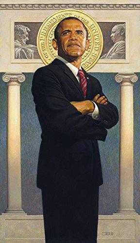 (Thomas Blackshear II The President Obama Limited Edition Lithograph Hand)