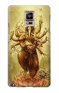 E1329 Hindu God Ganesha Funda Carcasa Case para Samsung Galaxy Note 4