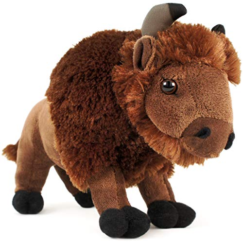 VIAHART Billy The Bison | 11 Inch Buffalo Stuffed Animal Plush | by Tiger Tale Toys ()