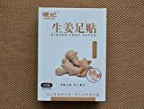 ThinkMax 20pcs Women Men Elderly Relieves Tension Stress Ginger Foot Pads Promote Sleeping