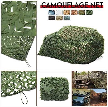 キャンプの写真を見てカモネッティング迷彩ネット砂漠隠しのWeb/シェード装飾、狩猟、ブラインドの撮影に適した、複数のサイズ(サイズ:6x6m) (Color : Green, Size : 10*10M(32.8*32.8ft))