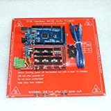 KINWAT 1pcs Mega 2560 R3 for + 1pcs Ramps 1.4 Controller +1pcs PCB Heatbed MK2B 3D Printer kit Reprap MendelPrusa