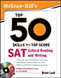 McGraw-Hill's Top 50 Skills for a Top Score: SAT Critical Reading and Writing