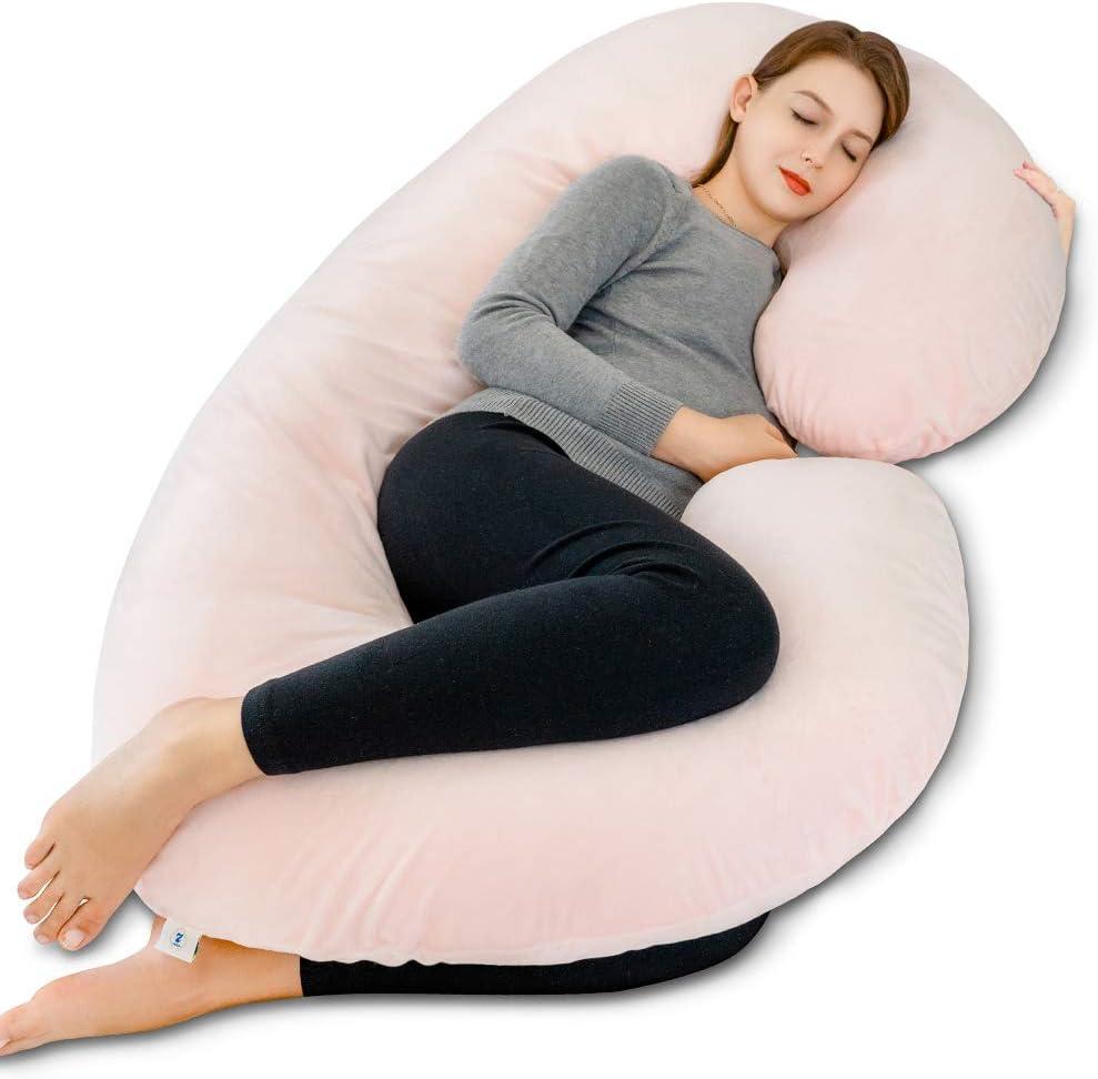 INSEN Pregnancy Pillow Full Body favorite Maternity Shaped Colorado Springs Mall C