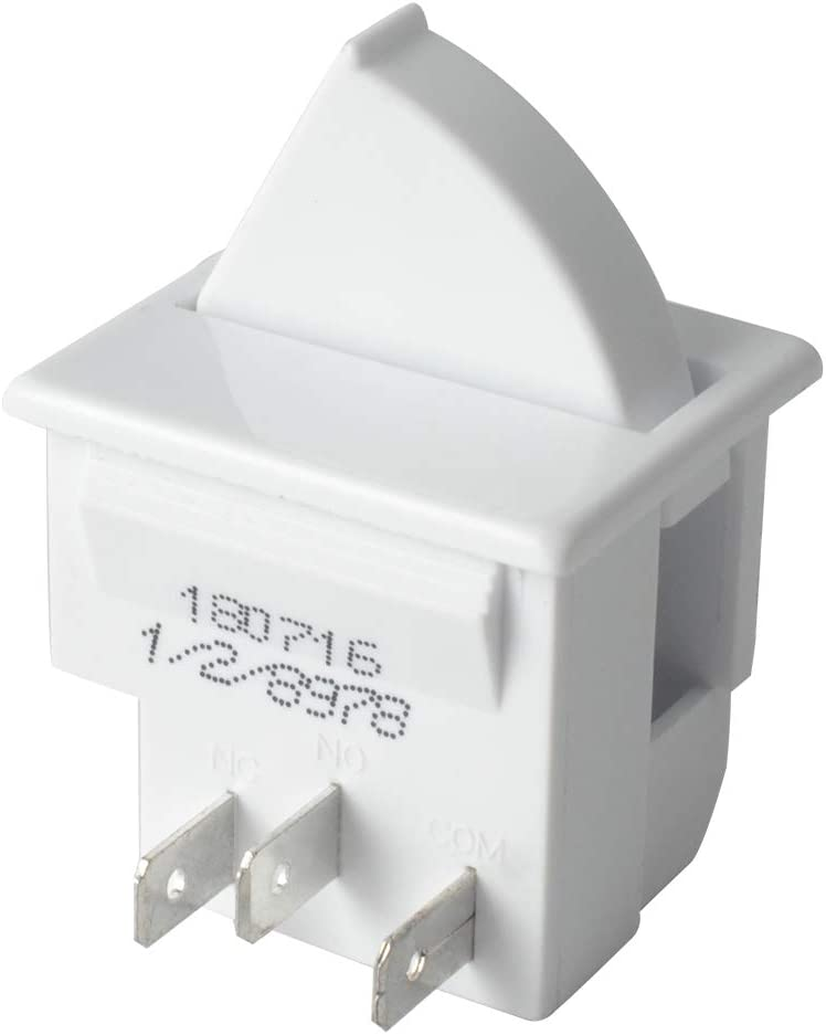 Gekufa 12002646 Light Switch Compatible with Whirlpool Refrigerator Replaces Part # 12466103, AP4008827