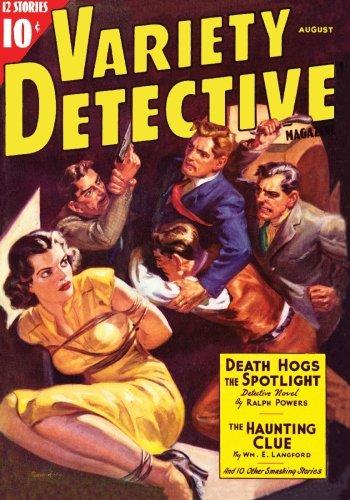 Read Online Variety Detective Magazine - 08/38 pdf epub