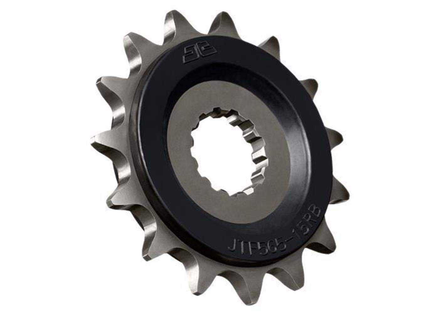 97-18 SUZUKI GSXR600: JT Steel Front Sprocket (520 / 15T / OEM Rubber Cushion)