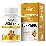 Cheap Turmeric Curcumin 1300 mg; Anti Inflammatory, Pain Relief Plus Joint Support; Tumeric Curcumin Supplement with Bioperine Black Pepper Extract Turmeric Root Powder in Veggie Turmeric Capsules