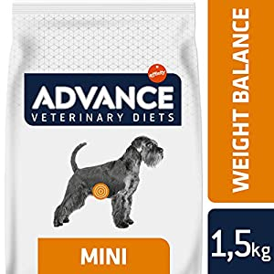 Advance Veterinary Diets Weight Balance Pienso para Perros Mini – 1500 gr