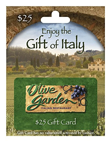 Olive Garden $25 Gift Card (Wine Gift Cards)