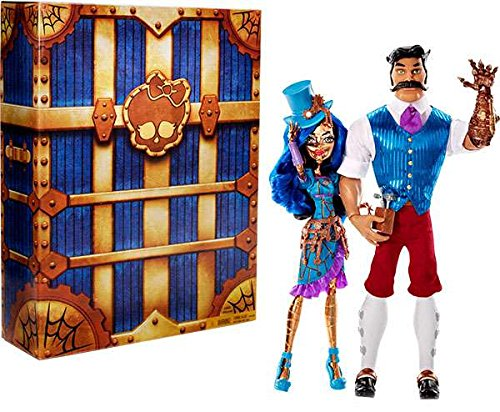 SDCC 2016 Exclusive Monster High Robecca Steam & Hexiciah Steam 2 Pack Doll Set