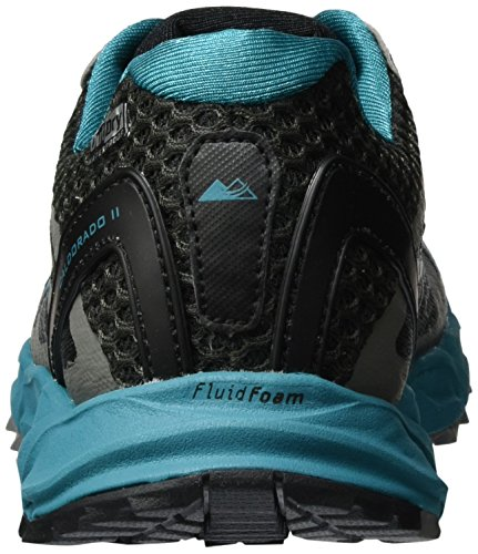 Columbia Caldorado II Outdry, Chaussures de Running Compétition Femme Gris (Dark Grey, Sea Level)