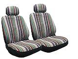 Baja Inca Saddle Blanket Front Seat Cover Pair