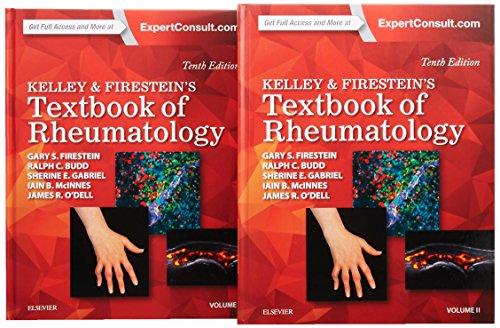 Kelley and Firestein's Textbook of Rheumatology, 2-Volume Set, 10e