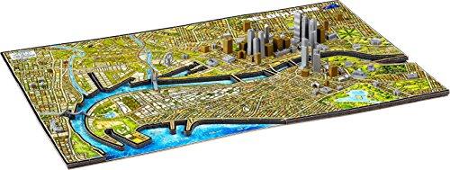 4D CityScape Melbourne Australia Puzzle