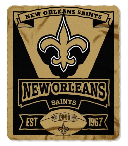 nfl-new-orleans-saints-marque-printed-fleece-throw-50-inch-by-60-inch