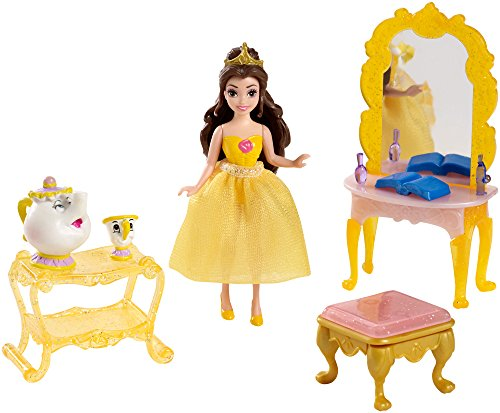 Disney Princess Little Kingdom Belle Doll and Furniture Playset