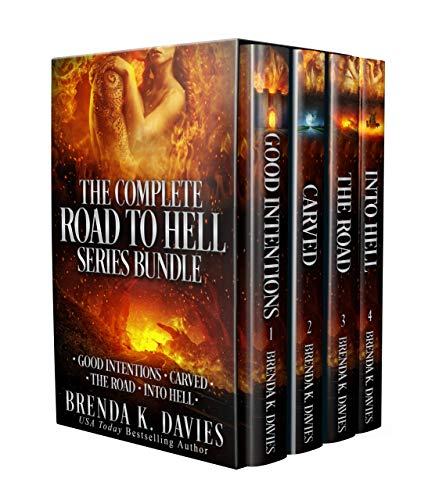 The Complete Road to Hell Series Bundle (Books 1-4) by [Davies, Brenda K.]