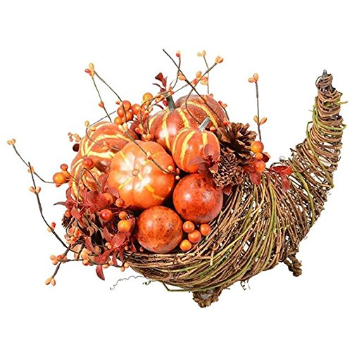 Fantastic Craft Pumpkin Cornucopia, -
