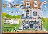 Olly Polly new kids Imported Garden Landscape children 3D Puzzle of Garden Villa