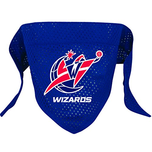 Hunter MFG Washington Wizards Mesh Dog Bandana, Small