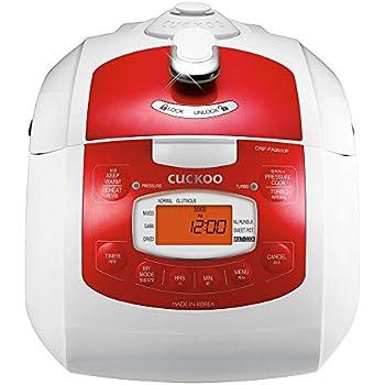 Amazon.com: Cuckoo Rice Cooker l CRP-J0610F (Pink/Lilac