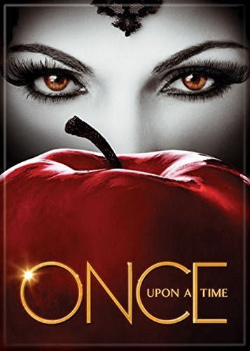 Once Upon a Time - Evil Queen and Apple - Refrigerator Magnet by -