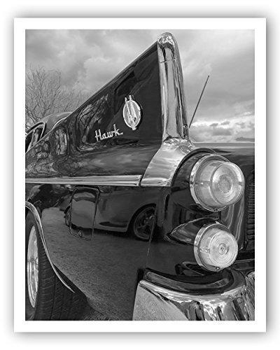 Studebaker Car Photo, Studebaker Hawk Picture, Tail Fins, Studebaker Wall (1956 Wall Art)