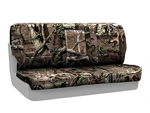 CoverKing Rear Solid Bench Custom Fit Seat Cover for Sele...