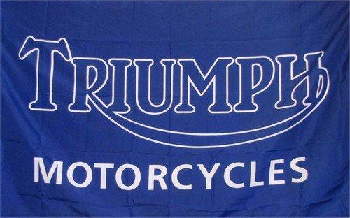 Triumph Motorcycles Logo Auto Dealer Banner Flag - Dealer Triumph