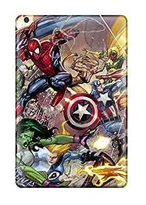 David J. Bookbinder's Shop High Impact Dirt/shock Proof Case Cover For Ipad Mini 3 (spider-man)