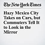Hazy Mexico City Takes on Cars, but Commuters Tell It to Look in the Mirror | Elisabeth Malkin