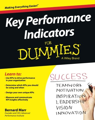 Key Performance Indicators For Dummies [Bernard Marr] (Tapa Blanda)