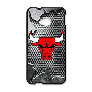Bulls logo Phone Case for HTC One M7 by runtopwell