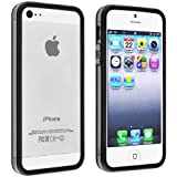 Casotec Backless Bumper Case Cover for Apple iPhone 5 - Black