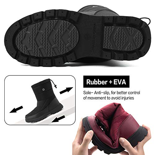 Pictures of Men and Women's Waterproof Snow Boot U118WXZ030 4