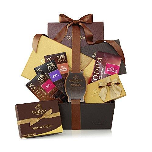 Godiva Chocolatier Chocolate Connoisseur Gift Basket