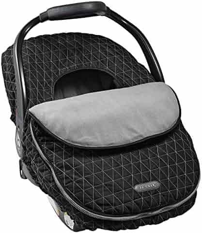 JJ Cole Car Seat Cover, Black Tri Stitch