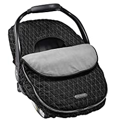JJ Cole's baby car seat covers are stylish, smart, and designed to keep your little one warm and cozy all year round. The combination of nylon and soft fleece helps fend off the cold and deflect rain, while the elasticized outer band stretche...