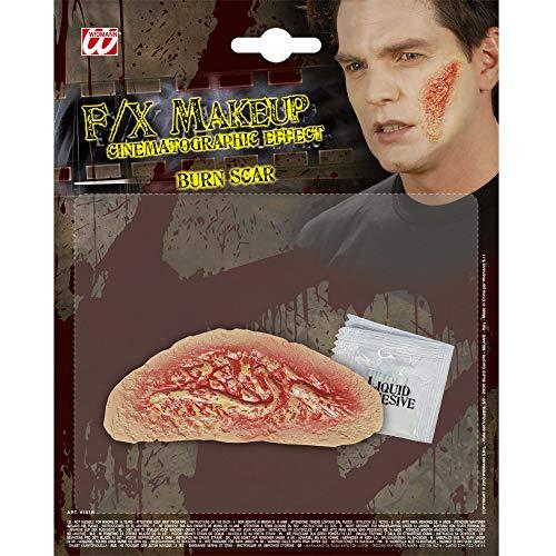 Halloween Realistic Fake Burn Scar ()