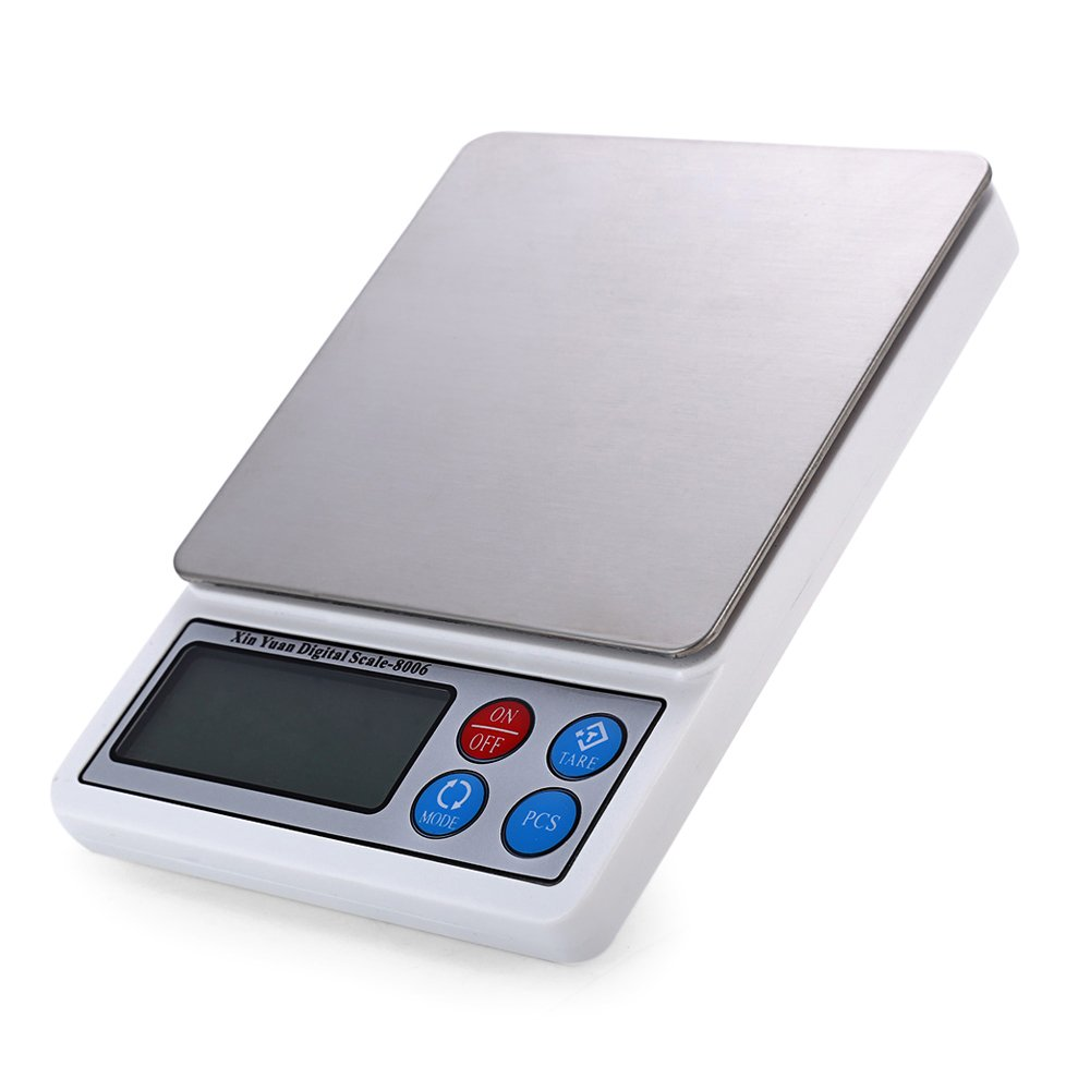 TOOGOO 600g/0.01g 2.2in Electronic Scale Gold Jewelry Scale