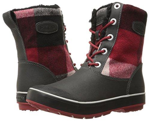 KEEN Dahlia Damen ELSA Wanderstiefel Trekking Red amp; Wp Schwarz Black Boot qpRxBAqr